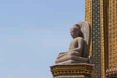 wat för buddha kaewphra Arkivbild