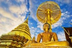 wat för chiangmaidoisuthep Royaltyfri Foto
