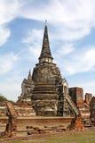 wat för si för ayutthayaphrasanphet Royaltyfri Fotografi
