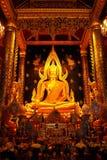 wat för si för rattana för phra för buddha chinnaratmahathat Royaltyfri Bild
