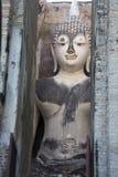 wat för staty för buddha choomsri Arkivbilder