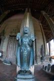 wat för tempel för 2 buddha laos saketsi Royaltyfri Bild