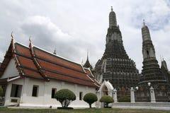 wat för tempel för arunbangkok gryning Fotografering för Bildbyråer