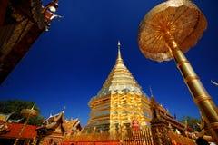 wat för tempel för doiphrasuthep Royaltyfri Foto