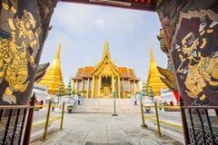 wat för tempel för phra för buddha smaragdkaew Royaltyfri Bild