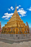 wat för tempel för phra för bangkok kaeolandmark Royaltyfria Bilder