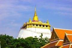 Wat Gold Mountains Stock Image