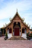 Wat Haripunchai. Stockfotos