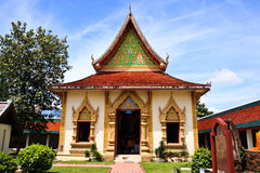 Wat Haripunchai. Royaltyfria Bilder