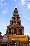 Wat Haripunchai. Arkivbilder