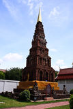 Wat Haripunchai. Stockfotografie