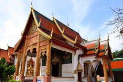 Wat Haripunchai. Royaltyfria Foton
