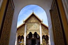 Wat Haripunchai. Stockfoto