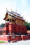 Wat Haripunchai. Lizenzfreies Stockfoto