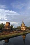 Wat Hasdavas, Ayutthaya, Tailândia foto de stock