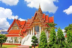 Wat Hat Yai Nai, Hatyai, Thailand Royalty Free Stock Photography