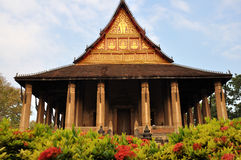 Wat Haw Pha Kaew Royalty Free Stock Photos