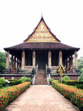 Wat Haw Pha Kaew, a buddhist temple Royalty Free Stock Photography