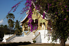 Wat Ho Pha Bang Temple - Laos Royalty Free Stock Image