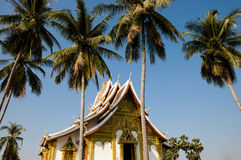Wat Ho Pha Bang Temple - Laos Royalty Free Stock Photo