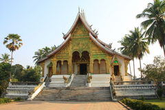 Wat Ho Prabang temple Royalty Free Stock Image