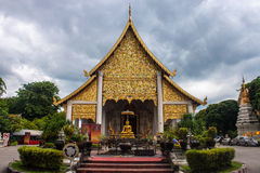 Wat Ho Tham temple Stock Image