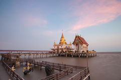 Wat Hong Thong at Chachoengsao province, Thailand during the sun Stock Images