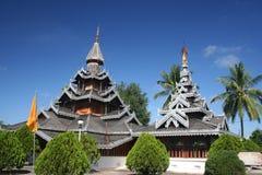 Wat Hua Wiang, Mae Hong Son, Tailândia Foto de Stock