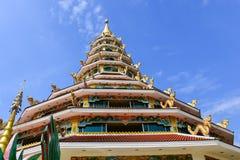 Wat Huai Pla Kang. Wat Huay Pla Kang temple in Chiang Rai, Thailand Stock Images