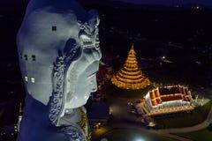 Wat Huai Pla Kung Un beau temple public Il est populaire avec b Photo stock