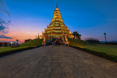 Wat Huai Pla KungTemplein Chiang Rai, Thaïlande Photographie stock