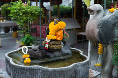 Wat Hualamphong Stock Photography