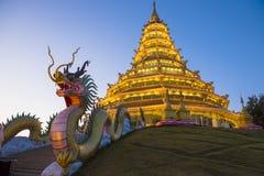 Wat Huay pla kang (thai name) ,Thailand. Royalty Free Stock Photography