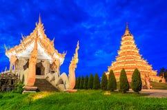 Wat Hyua Pla Kang, Thailand. Wat Hyua Pla Kang in Chinese style, Chiangrai province of Thailand Royalty Free Stock Photos