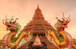 Wat Hyua Pla Kang (Chinese temple) Stock Image