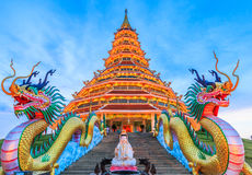 Wat Hyua Pla Kang (Chinese temple) Royalty Free Stock Images