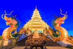 Wat Hyua Pla Kang (Chinese temple) Stock Photography