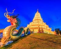 Wat Hyua Pla Kang (Chinese temple) Stock Images