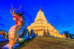 Wat Hyua Pla Kang (Chinese temple) Royalty Free Stock Photography