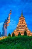 Wat Hyua Pla Kang Chinese temple Stock Images