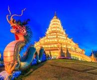 Wat Hyua Pla Kang (chinesischer Tempel) lizenzfreie stockbilder