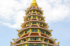 Wat Hyua pla kang pagoda Stock Photos