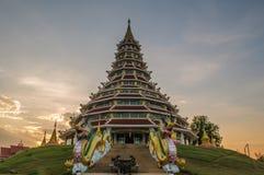 Wat Hyuaplakang, Chiang Rai, Ταϊλάνδη Στοκ εικόνα με δικαίωμα ελεύθερης χρήσης