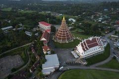 Wat Hyuaplakang in Chiang Rai Immagine Stock Libera da Diritti