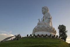 Wat Hyuaplakang in Chiang Rai Immagini Stock