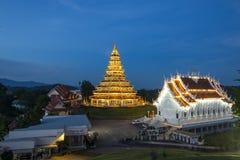 Wat Hyuaplakang in Chiang Rai Fotografia Stock