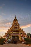 Wat Hyuaplakang, Chiang Rai, Thailand stockbild