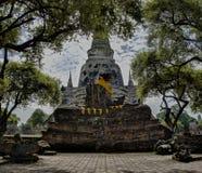 Wat i Ayutthaya Thailand asia royaltyfri bild