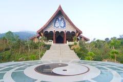 Wat i Loei, Thailand Royaltyfri Fotografi