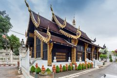 Wat Inthakhin Sadue Muang; Thailand stock afbeeldingen